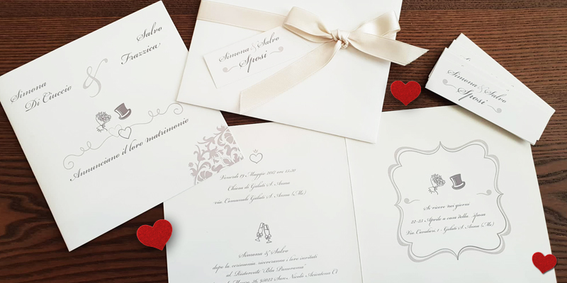 Partecipazioni Matrimonio Catania.Partecipazioni Matrimoni Imprink Ad Aci Castello Catania